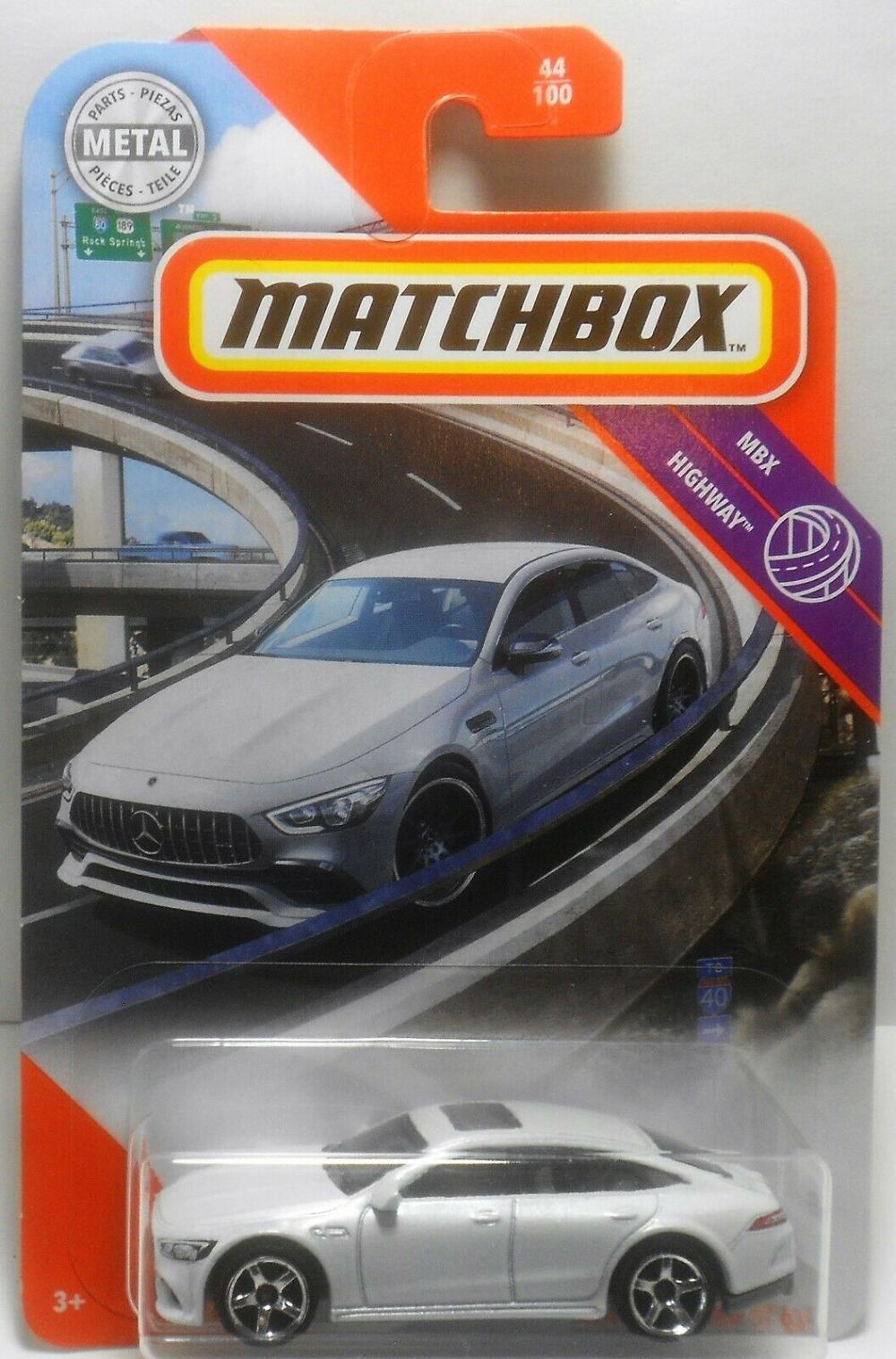 MBX Highway Mercedes-AMG GT 63 S 44 Matchbox 2020 neu in OVP