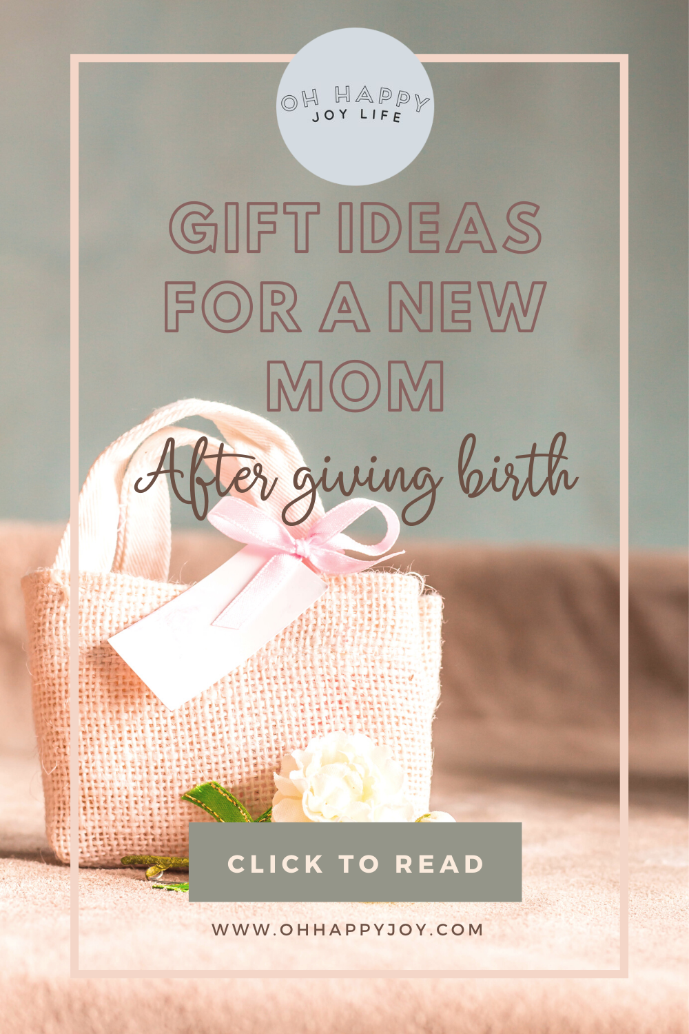 Gift Ideas for a New Mom After Giving Birth - Oh Happy Joy! in 2020 | New moms, After giving ...