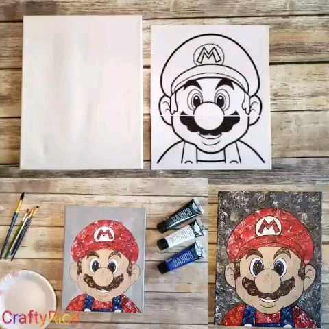 Photo of Painting for those who can't paint or draw! Don't waste your money on expensive wall decorations DIY