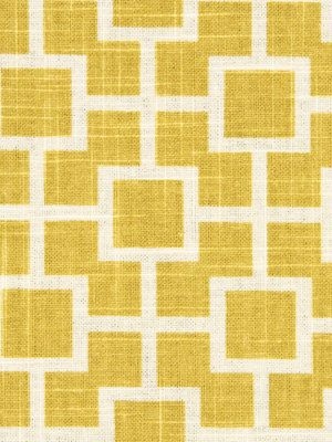 Yellow Upholstery Fabric By The Yard White And Yellow Geometric Fabric  Yardage On Etsy, $26.00