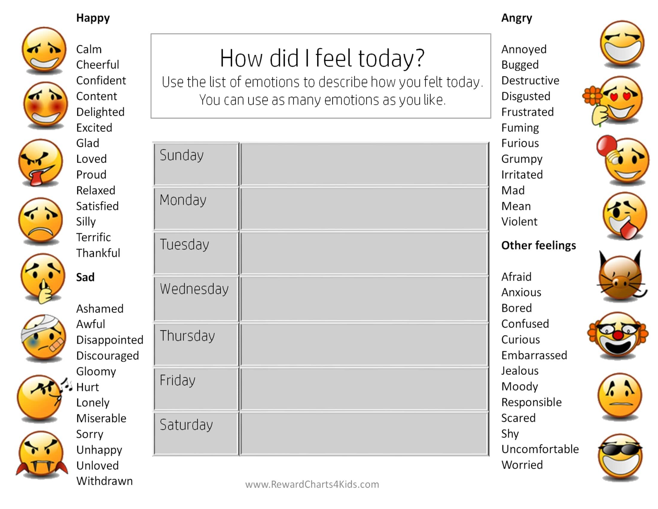 Pin By Erirope On Feelings Evaluation