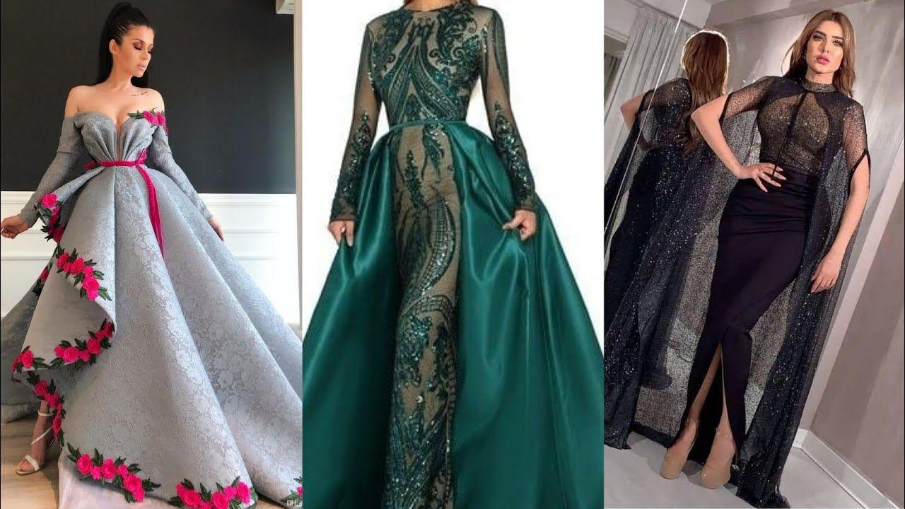 اجمل فساتين سهرة Robes Soirees Youtube Wedding Saree Indian Abayas Fashion Dresses
