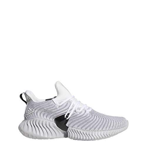 low priced cff9c cf206 adidas Alphabounce Instinct Shoe Womens Running 6.5 White-Grey-Black