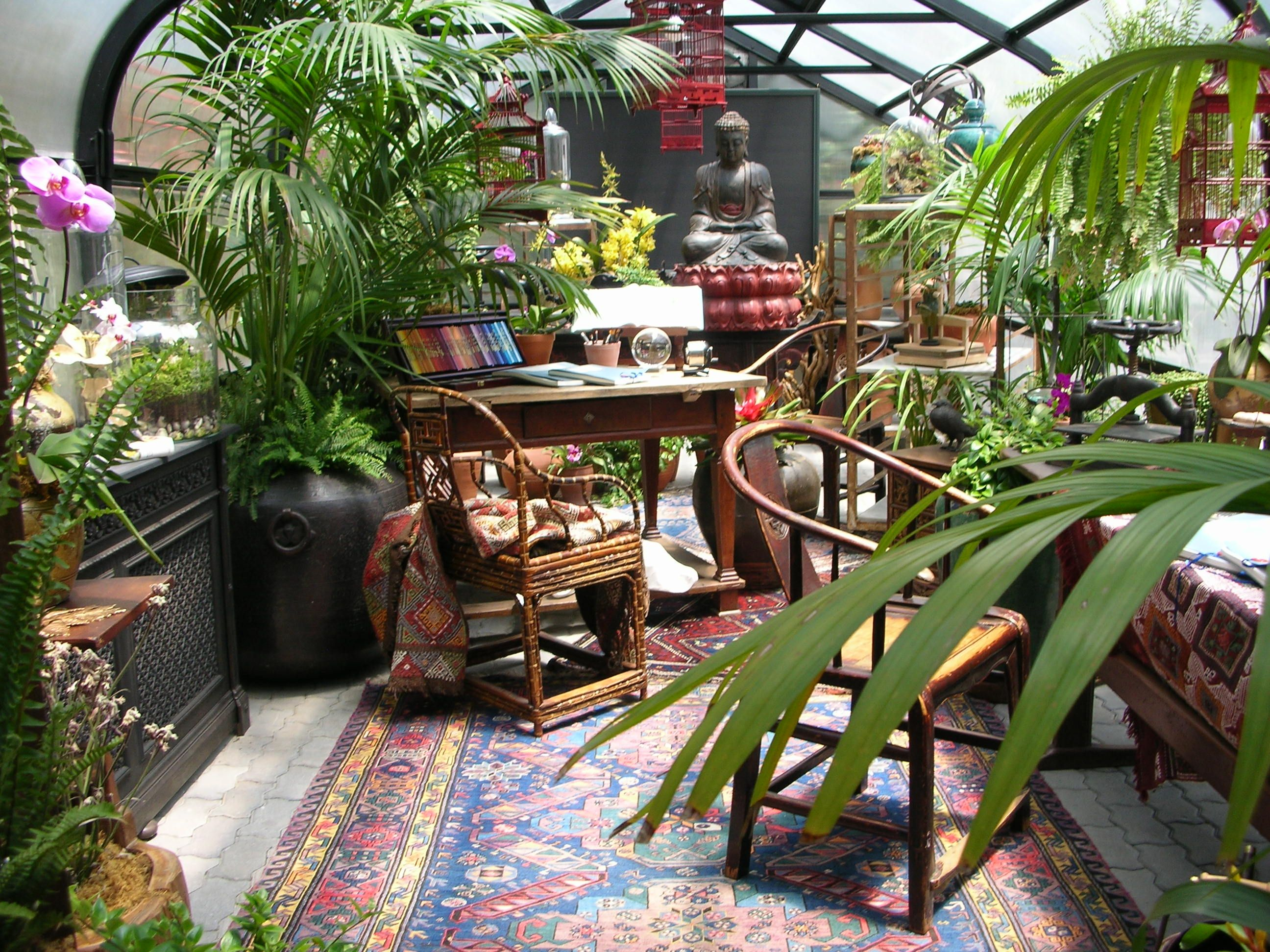 conservatory as studio space