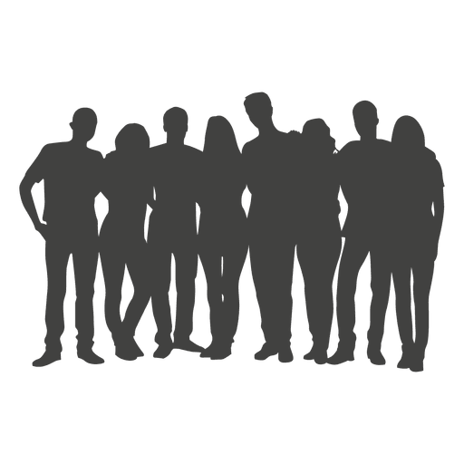 People Group Silhouette Ad Paid Affiliate Silhouette Group People Silhouette Png Graphic Image Graphic Resources