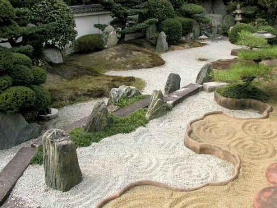 Jardines Feng Shui Con Plantas2 Outside Living Garden Bonsai