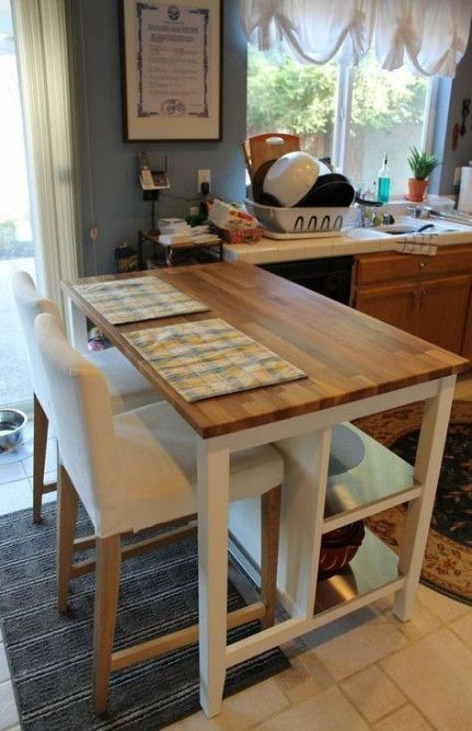 Photo of 53 Ideas kitchen island diy with seating ikea butcher blocks for 2019