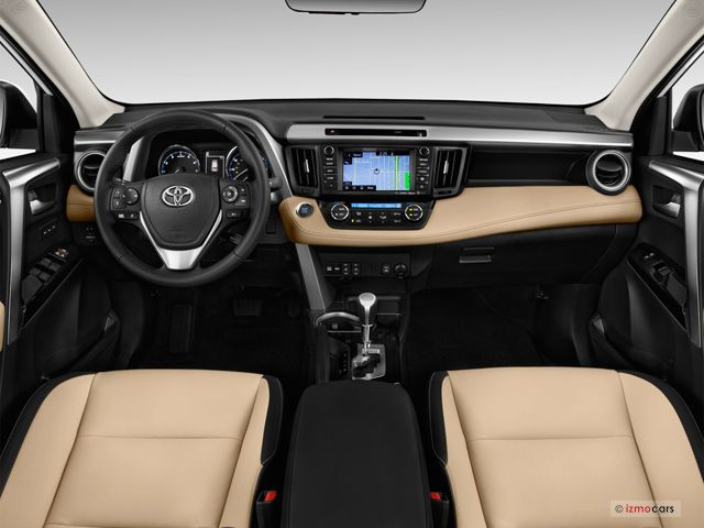 2016 Toyota Rav4 Dashboard Compact Crossover Camry Interior