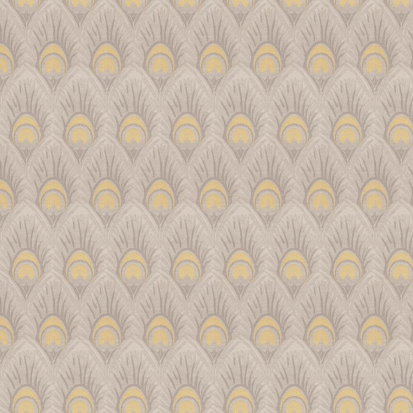 Yellow Grey Grey Yellow Animal Print Wovens Multi Purpose