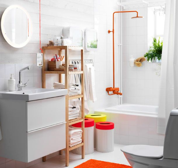 Meubles de salle de bain et Décoration | Orange is the new ...