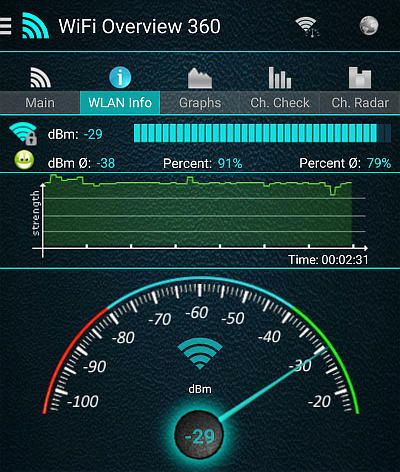 Find the best WiFi network settings with this Android app