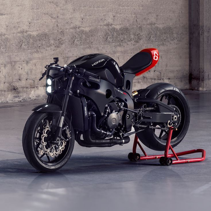 Channelling Tron The Ultimate Cafe Fighter Kit Cafe Racer Kits