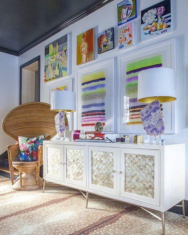 Another shot of my completed #oneroomchallenge  playroom. #orc #design #interiordesign  @mekenziefrance