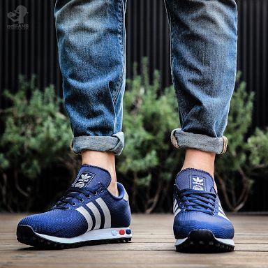 la trainer weave blue