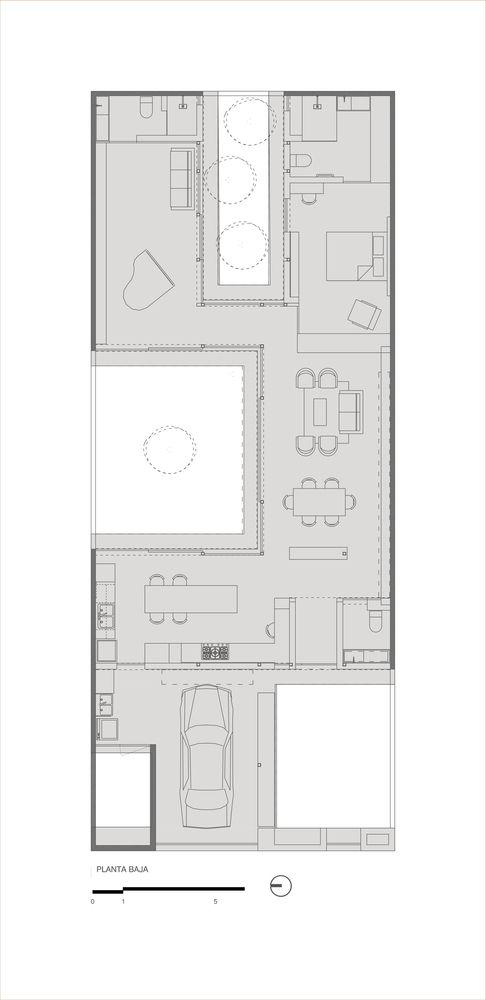 Gallery Of Campestre House Taab 25 Craftsman Floor Plans Floor Plans Luxury Plan