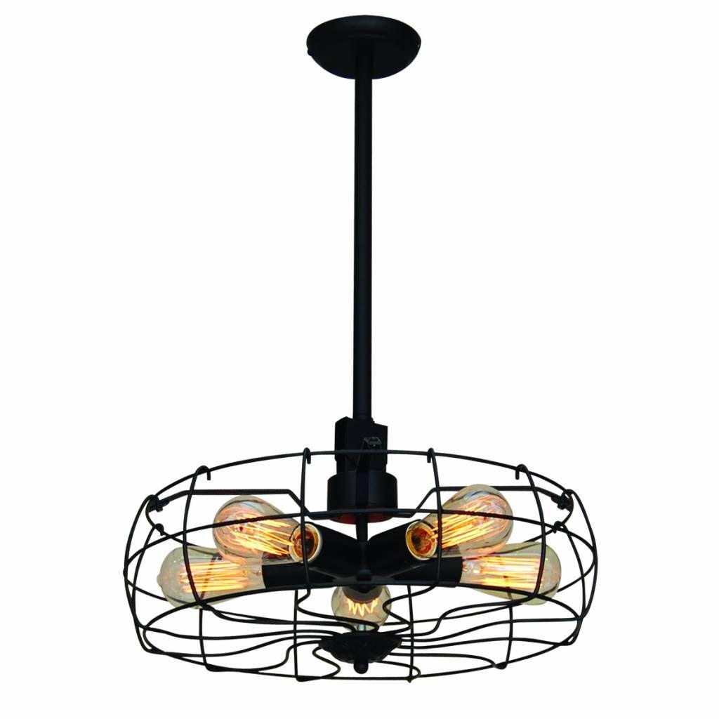 Stunning Industri le hanglamp ventilator imitatie voor lampen cm diameter