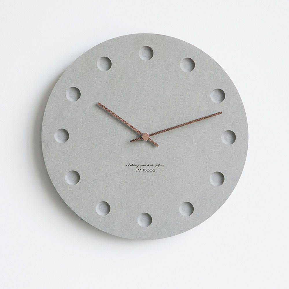 12 Inch Nordic Wall Clock Modern Creative Clock Minimalist Living Room Hanging Clock Bedside Mute Wood In 2020 Minimalist Wall Clocks Wall Clock Modern Diy Clock Wall