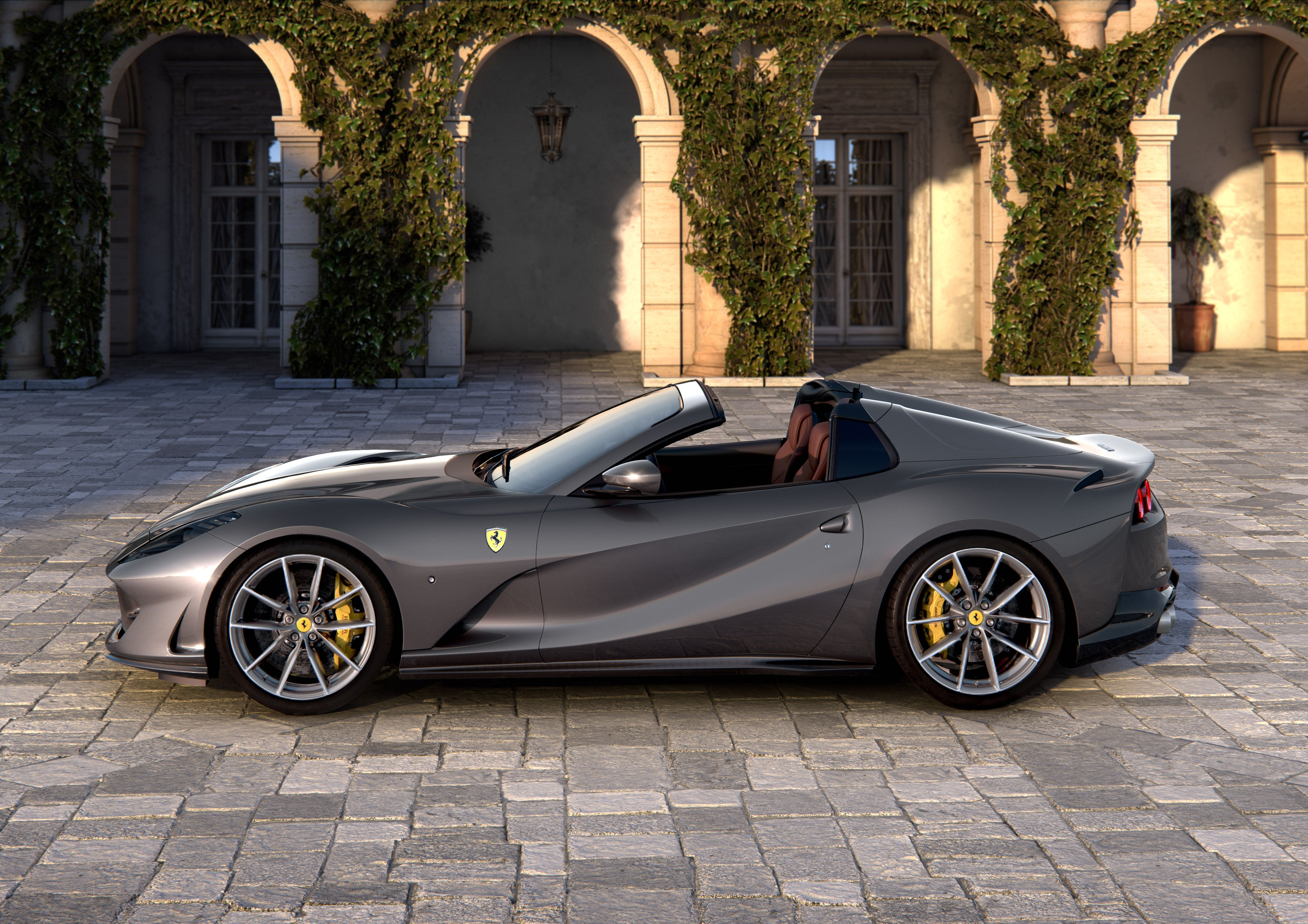 Ferrari 812 Gts Official Factory Issued Press Photo 2019