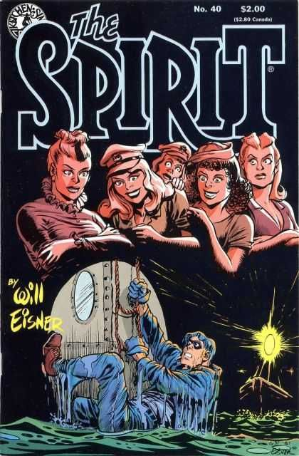 The Spirit #40, Will Eisner