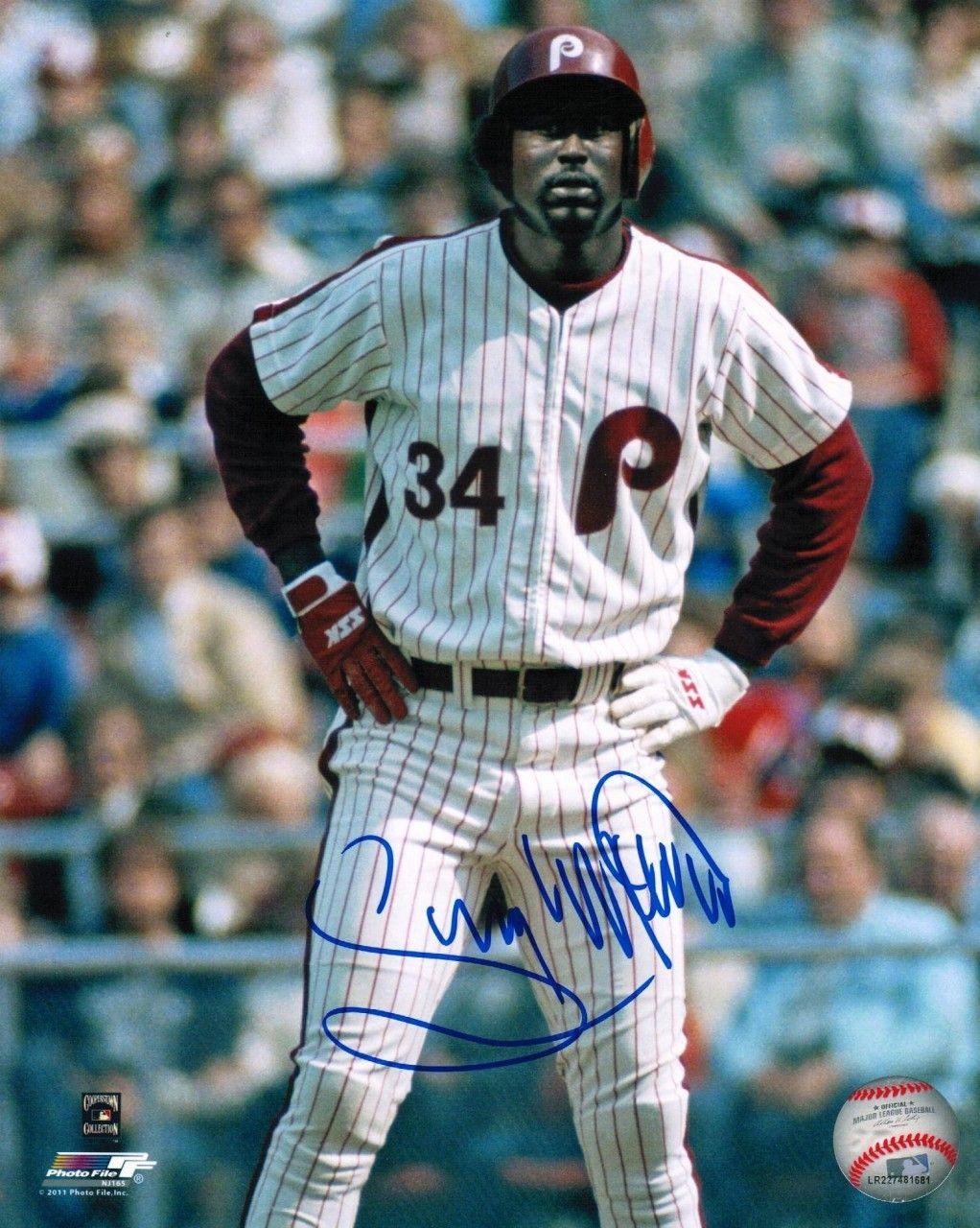 AAA Sports Memorabilia LLC Gary Matthews Philadelphia