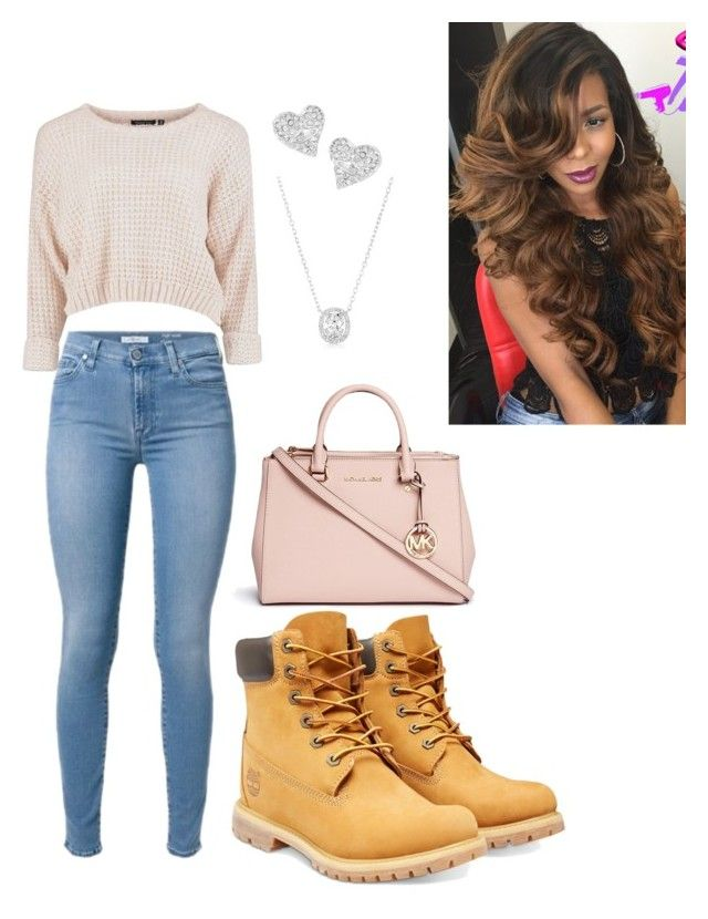 """""""saturday outfit"""" by aero1blue on Polyvore featuring Timberland, Vivienne Westwood and Michael Kors"""