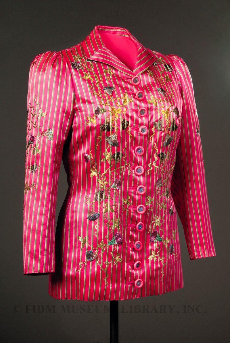 Evening jacket, Elsa Schiaparelli, Fall-Winter 1939-40.