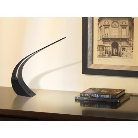 Curved Black Led Desk Lamp 190 Lamps Plus Office