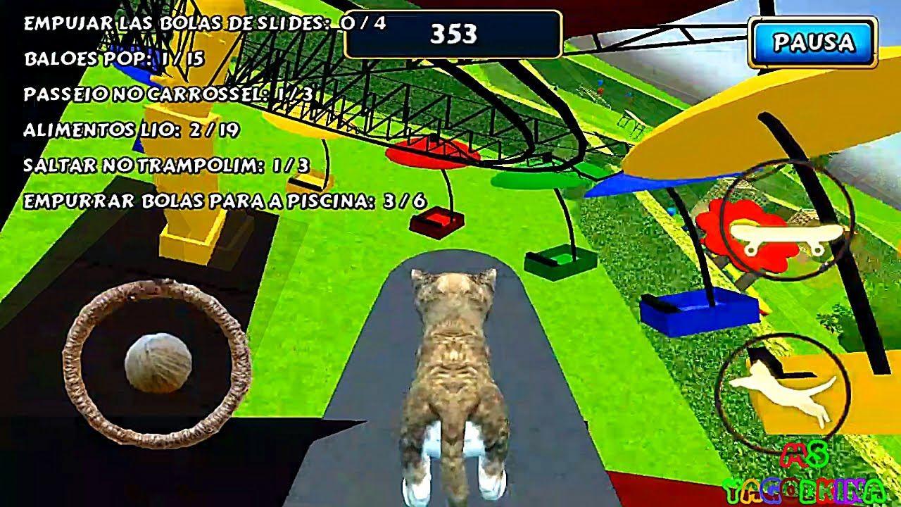 Simulador De Gato Cat Simulator Jugar Con Un Pequeño Gatito Juego Pa Gatos Cat Gatito Gatos