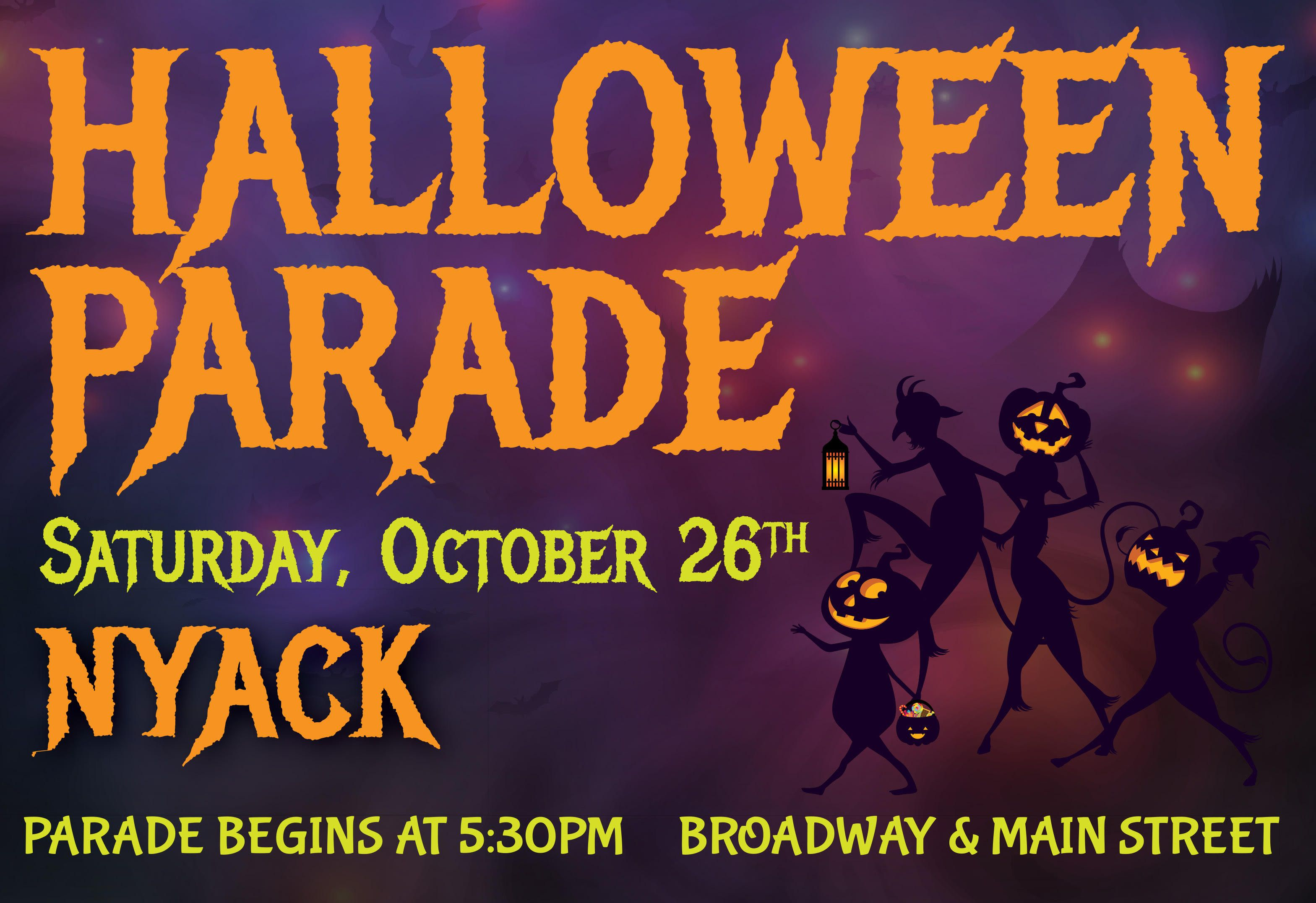 Nyack Halloween Parade 2020 Nyack Halloween Parade – Oct 24, 2020   Halloween parade