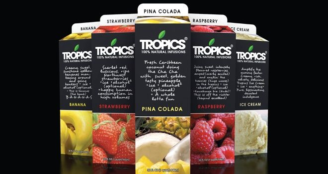 Tropics 100% Natural Infusions | Beverages | Fruit puree