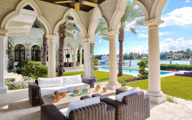 Awesome 18 Amazing Moroccan Style Patio Design Ideas