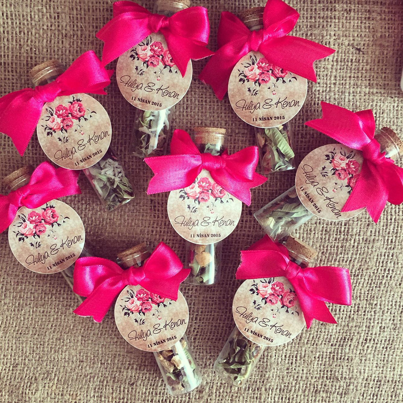Wedding favors / nikah hediyesi www.masalsiatolye.com | Kına ...
