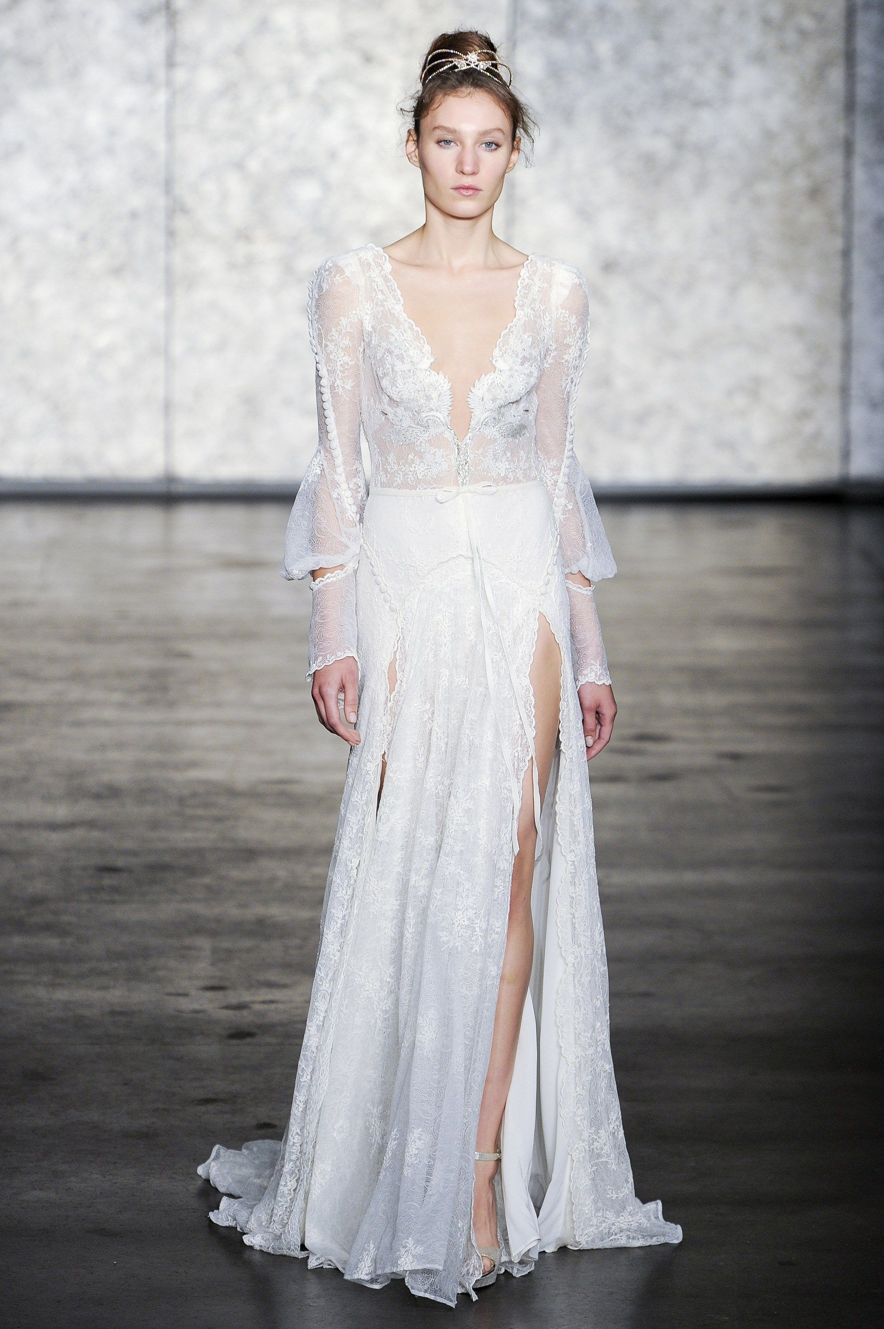 Inbal dror fall bridal fashion show the impression bridal