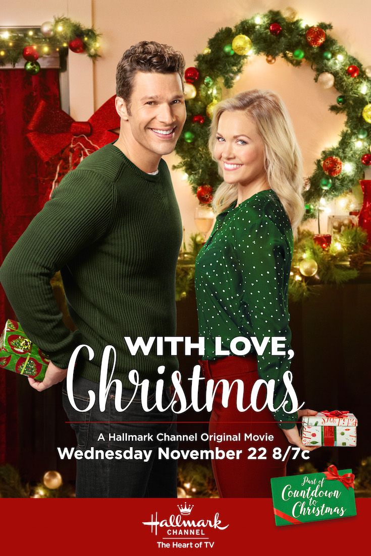 With Love Christmas Chesapeake Shores Emilie Ullerup And Aaron O Connel Hallmark Channel Christmas Movies Hallmark Christmas Movies Family Christmas Movies