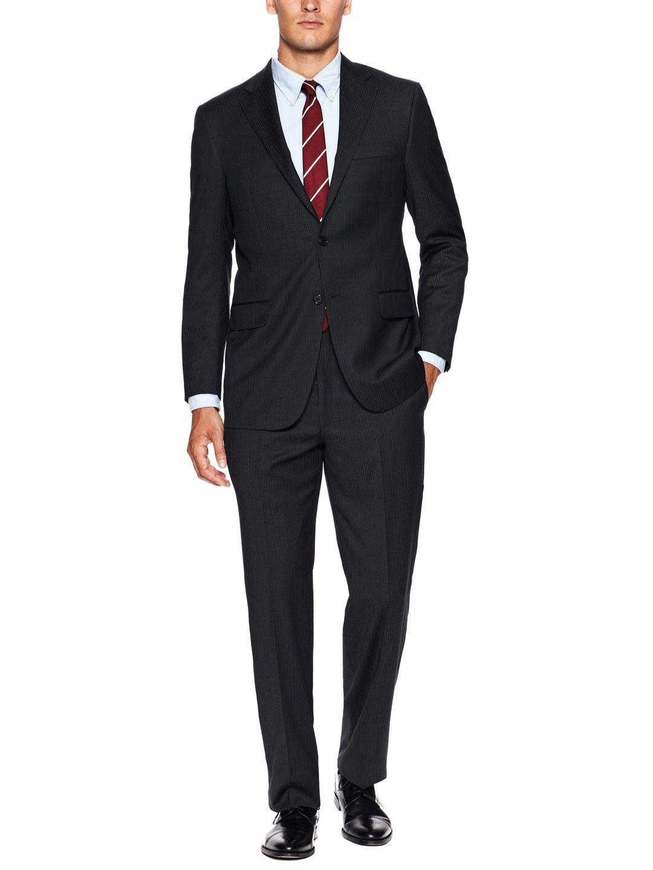 Pinstripe suit belt jacket socksmen suits menus fashion