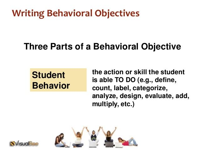 mager objectives examples behavioral objectives three parts - example of objective