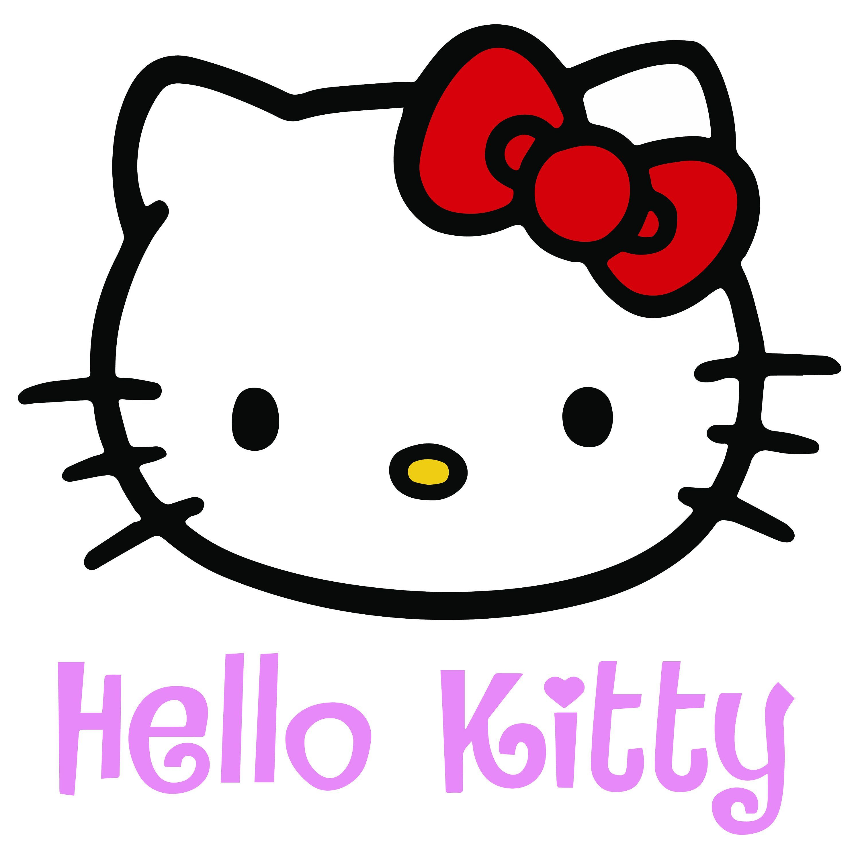Excited To Share The Latest Addition To My Etsy Shop Hello Kitty Logo Png Svg Ai Jpg Vector Pictures Fun Hello Kitty Clipart Melody Hello Kitty Kitty