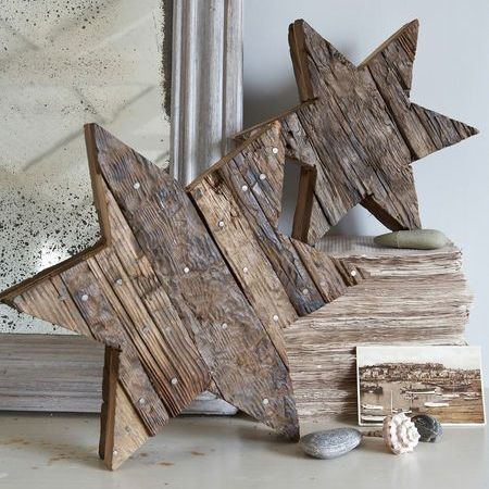 Whether you look for wood furniture that has been discarded or love shopping around at auction sales and salvage yards, reclaimed wood lends a patina of age to your festive decorations, and usually at a very affordable cost. http://www.easydiy.co.za/index.php/make/508-reclaimed-holiday-decor
