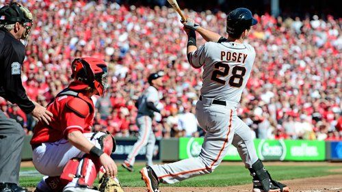 Posey Hitting A Grand Slam In The 5th Game Of The Nlds The Impossible Task Of Winning 3 Games In Cincinnati Became Realit Buster Posey Grand Slam Sf Giants