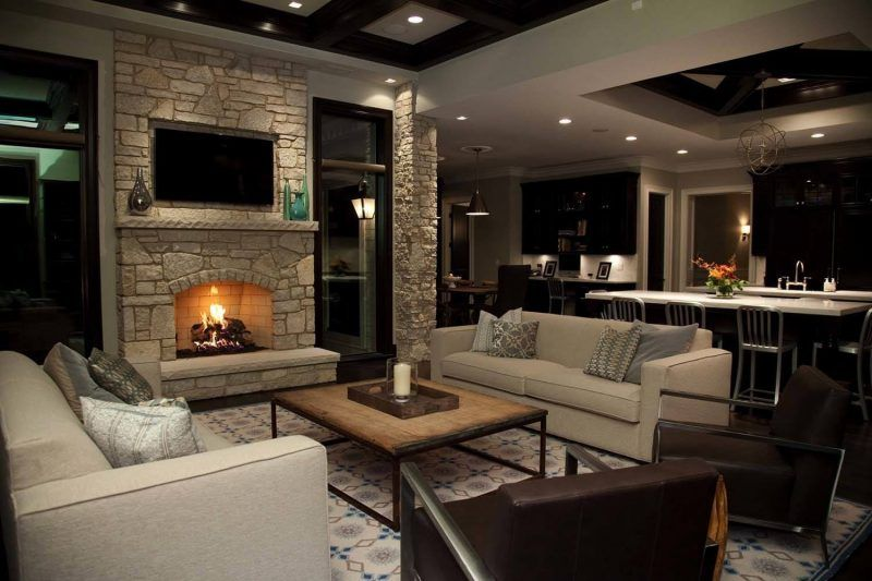 Contemporary Living Room Ideas 12