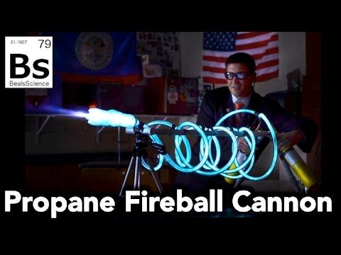 Propane Fireball Cannon How To Shoot Blue Fireballs Youtube Propane Diy Repair Diy Guns