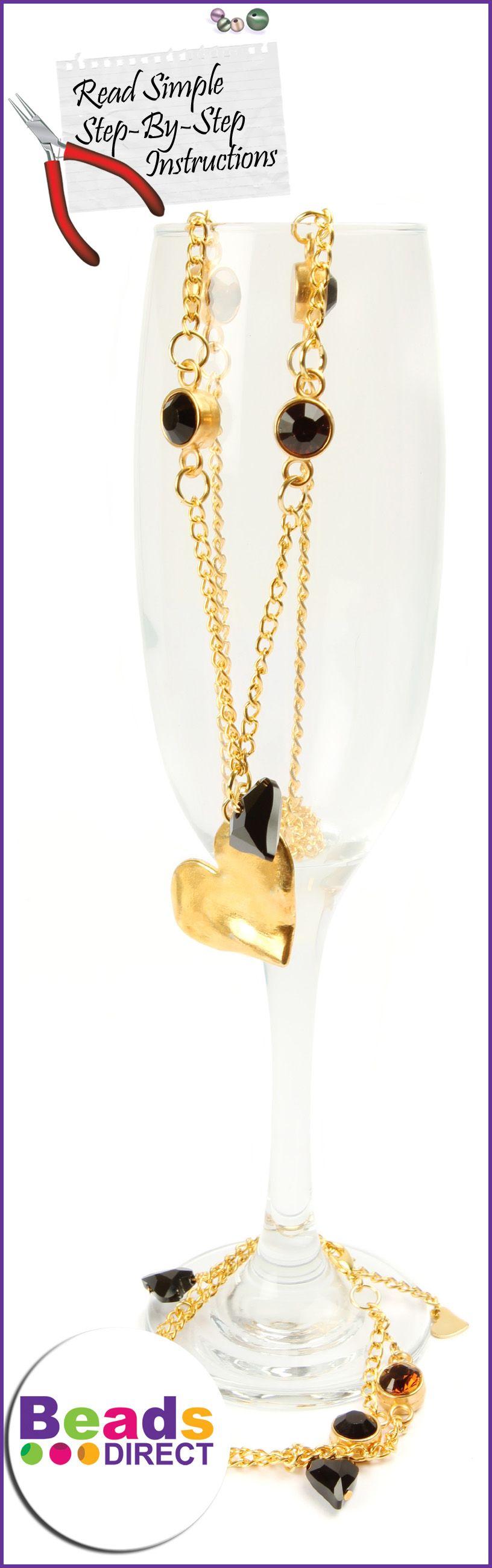 DIY Jewellery Set. Make your own bracelet and necklace set ...