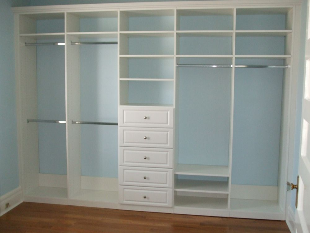 Need this for each of the kids' rooms- their clothes are so small,   Wardrobes For Small BedroomsBedroom Closet ...