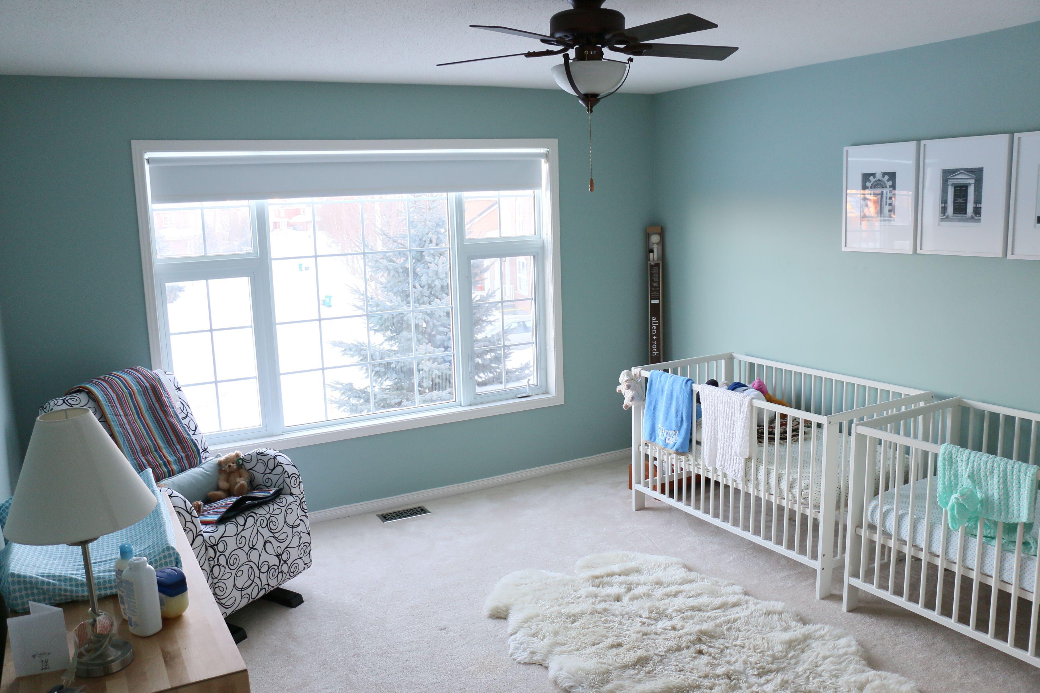 Wythe Blue Benjamin Moore Paint Ikea Gulliver Cribs