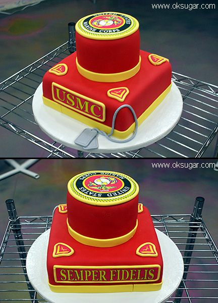 These Are Some Of The Best Of The Best Marine Corps Cakes