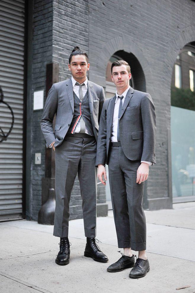 Fashionsnap.com(ファッションスナップ・ドットコム)Special SNAP 2015年05月11日 12:00 JST THOM BROWNE. NEW YORK