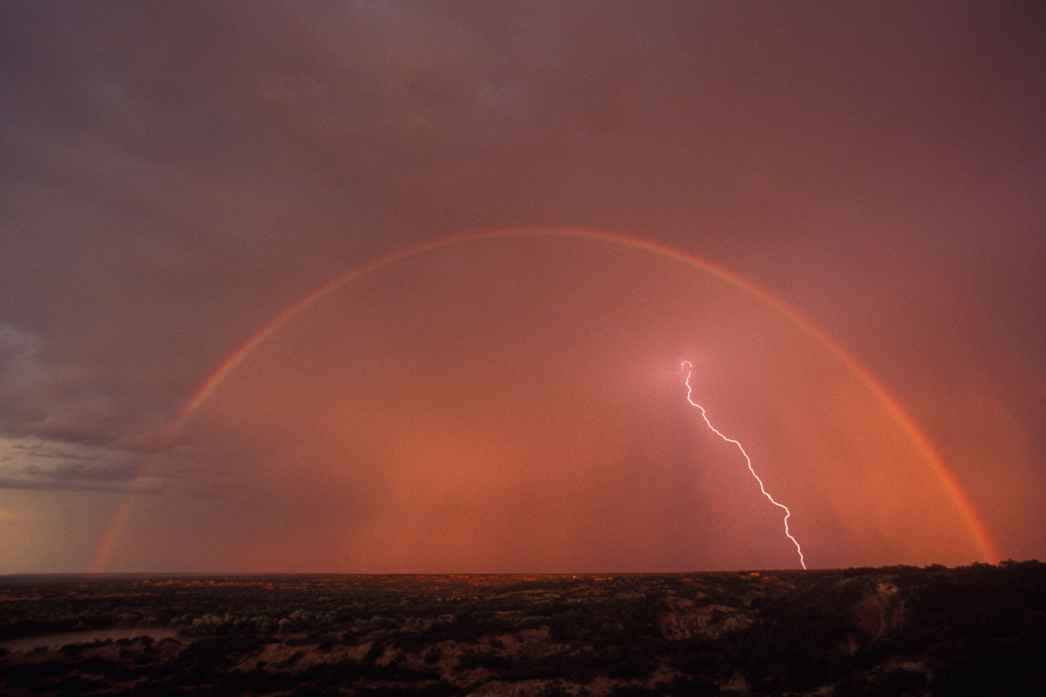 Rainbow Lightning by Wyman Meinzer
