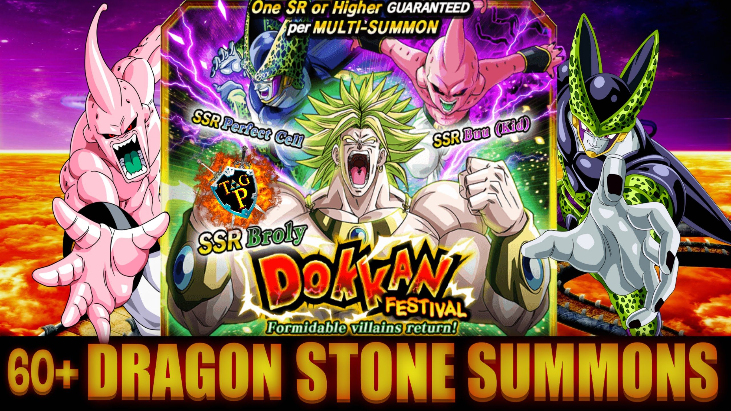Dragon Ball Z Dokkan Battle Dokkan Festival Formidable Villains Return 60 Dragon Stone Summons Dragon Ball Z Villain Dragon Ball