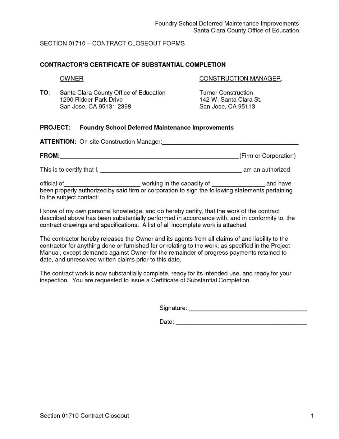 It Project Completion Certificate Sample New Construction Intended For Certificate Of In 2020 Certificate Of Completion Template Certificate Of Completion Certificate