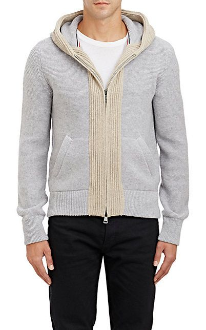 475c51391 Moncler Mixed-Knit Hoodie